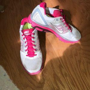 NIKE SNEAKERS pink Lunarglide 2 Women's
